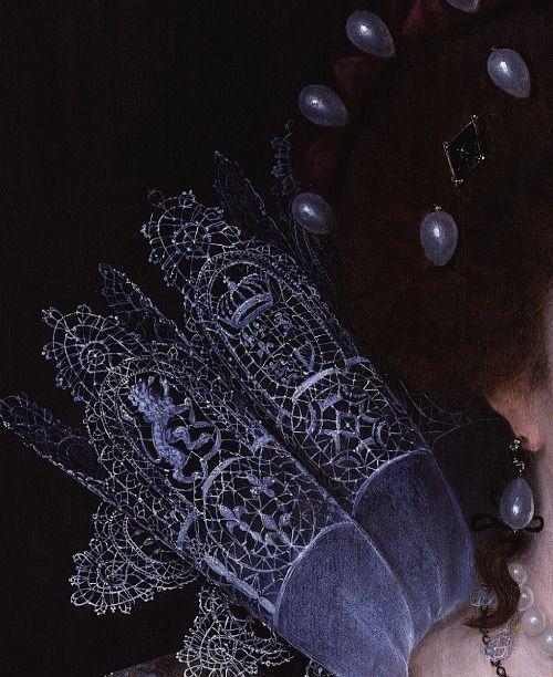 Elizabeth, Queen of Bohemia (detail) | Unknown artist | 1613: