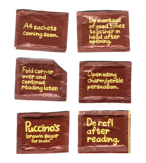 PUCCINO'S PACKAGING