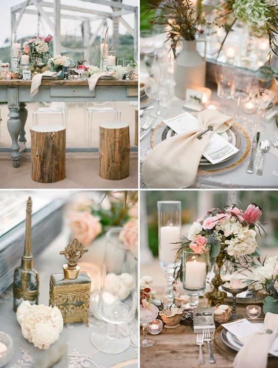 love this napkin fold/style.     Shipwrecked Winter Beach Wedding: Cortnie + Donny – Part 3