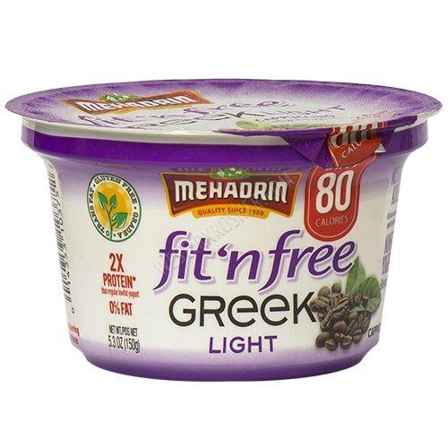 Mehadrin Fit N Free Greek Light Cappuccino, 5.3 Oz