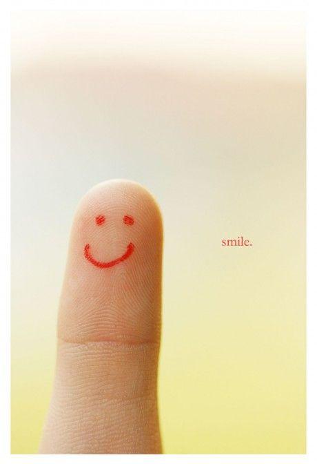 I pause, I breathe, I smile