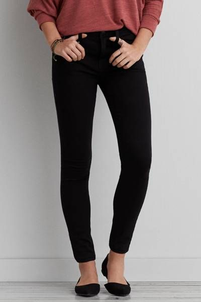 Hi-Rise Jegging by AEO | Our sexiest, skinniest fit with a must-have hi rise waist. Looks like a jean, feels like a legging. Shop the Hi-Rise Jegging and check out more at AE.com.
