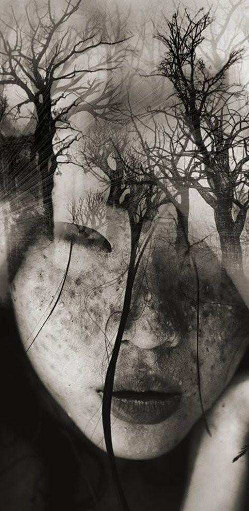 Surreal Portraits Blend Mystical Landscapes with Reality - My Modern Metropolis.  Info Sale AM Artworks: pil4r@routetoart.com