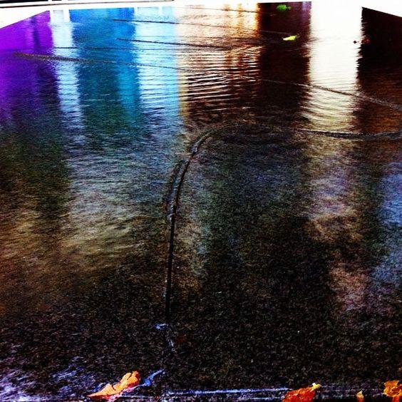 """#UCIpride @ucirvine arts school."" -- Photo by Adam Camacho @adam_theone via Instagram/Twitter.   http://instagr.am/p/JQzkNCpq7X/   #UCIPride #UCIrvine #UCI #CelebrateUCI #zot #Anteater #art #MayaLin #water"