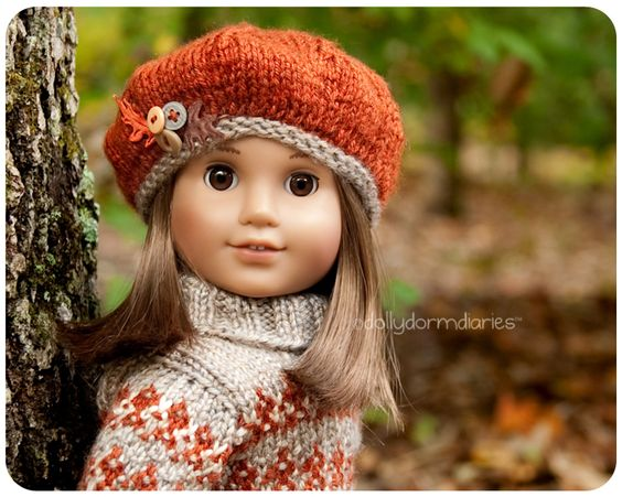 Dolly Dorm Diaries ~ American Girl Doll House Doll Diaries Blog: { My New Fall Sweater Outfit }