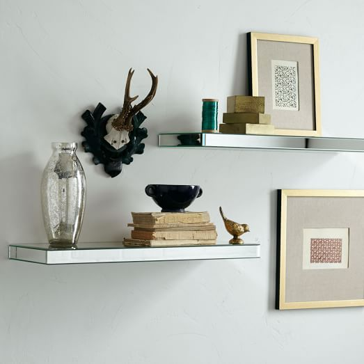 Effigy of Mirrored Wall Shelf, A Smart Way to Add Your Home Interior Value
