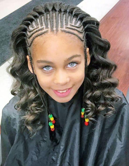 Pin On Black Kids Hairstyles