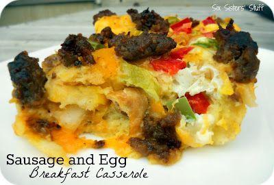 Sausage & Egg Casserole.