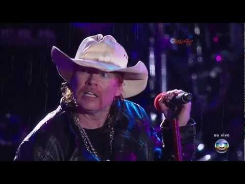Guns N´ Roses - Knockin' On Heaven's Door 2012