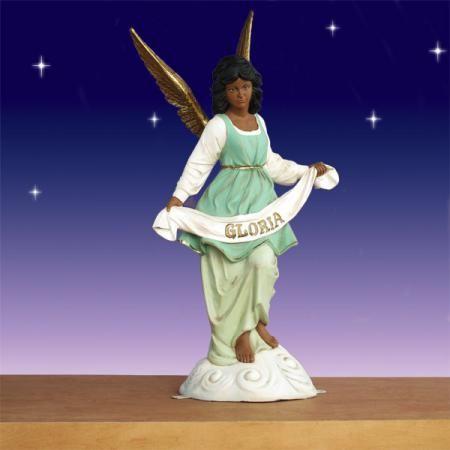 African American Angel Of Gloria 54 Quot Scale Outdoor African