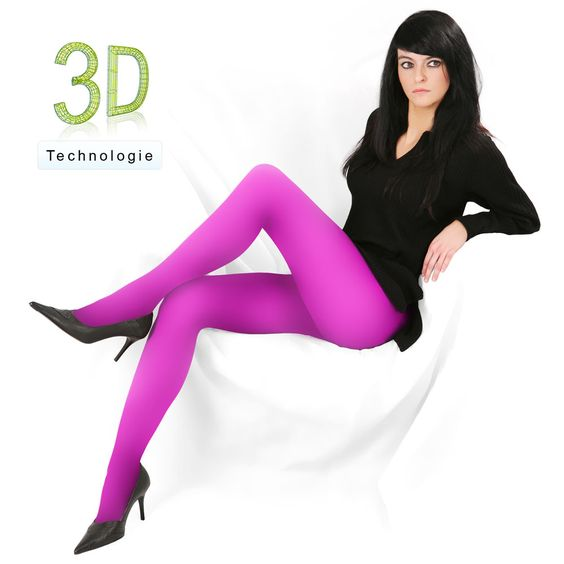 Damen - Fibrotex: STRUMPFHOSEN | GLATT | 3D TECHNOLOGIE | D 3126 TA