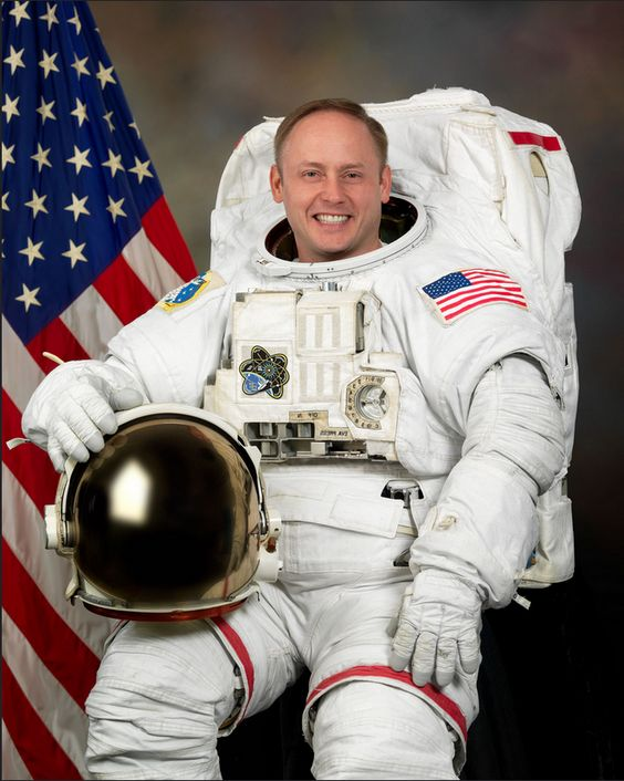 "EDWARD MICHAEL ""MIKE"" FINCKE (COLONEL, U.S. AIR FORCE, RETIRED) NASA ASTRONAUT  http://www.jsc.nasa.gov/Bios/htmlbios/fincke.html"