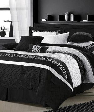 Another great find on #zulily! Black Cheetah Comforter Set by Chic Home Design #zulilyfinds