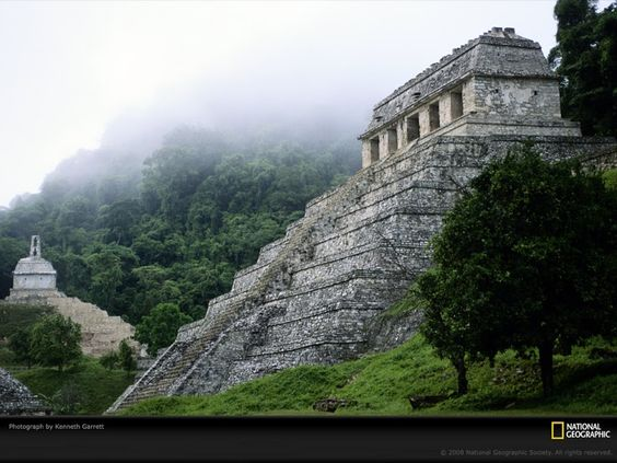 Many of the buildings in the Jade Isles are inspired by real Aztec or Mayan temples.