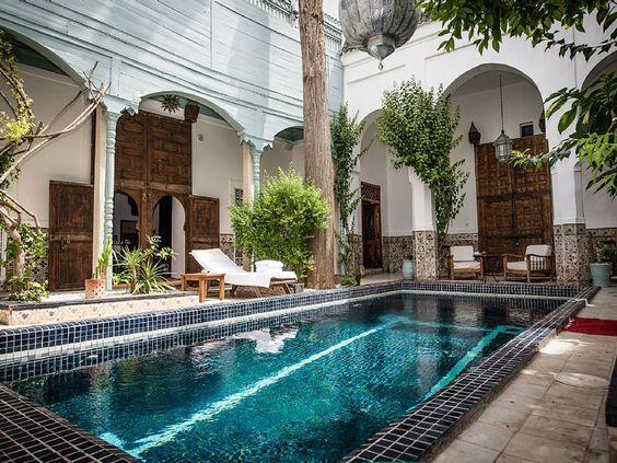14 Best Riad's in Marrakech | nb knappe kamers voor minder dan  €100 is een makkie in Marrakech. Riad Edwards is een goede tip met Engelse eigenaren en dito ontbijt