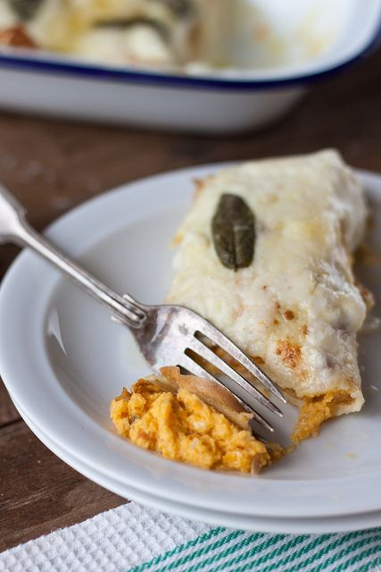 Pumpkin and Ricotta Crespelle