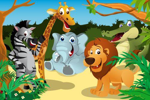 Animales De La Selva Juegos Y Ejercicios Para Niños Animales De La Selva Cuentos Infantiles De Animales Animales Africanos