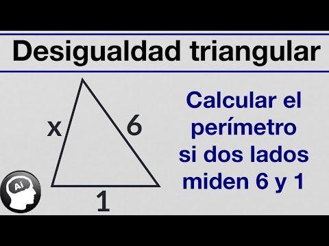 Calcular El Perimetro De Un Triangulo Si 2 Lados Miden 6 Y 1 Teorema De La Existencia De En 2021 Funciones Matematicas Enseñanza De La Geometría Calcular El Perimetro