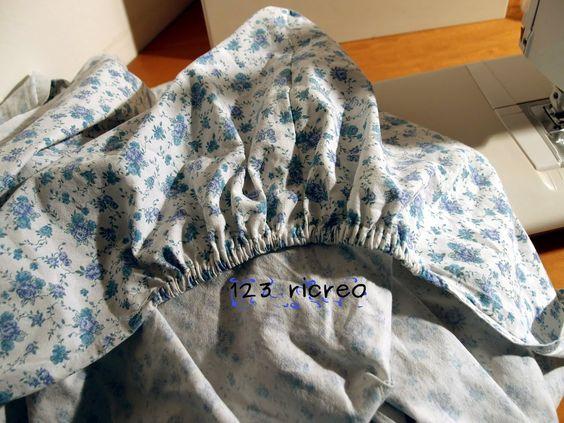 Trasformiamo un lenzuolo in lenzuolo con gli angoli. Vieni a visitare il sito https://sites.google.com/site/123ricreo/ https://sites.google.com/site/123ricre...