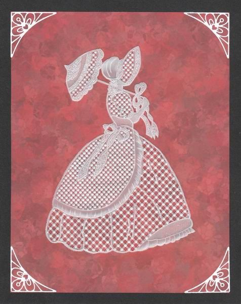 """A pattern by """"Exclusive Designs by Elaine"""" that I did in 2009 for my Granddaughter then aged 6."""