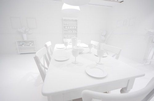 all white room - Google Search Blank canvas room - - What about having a  series