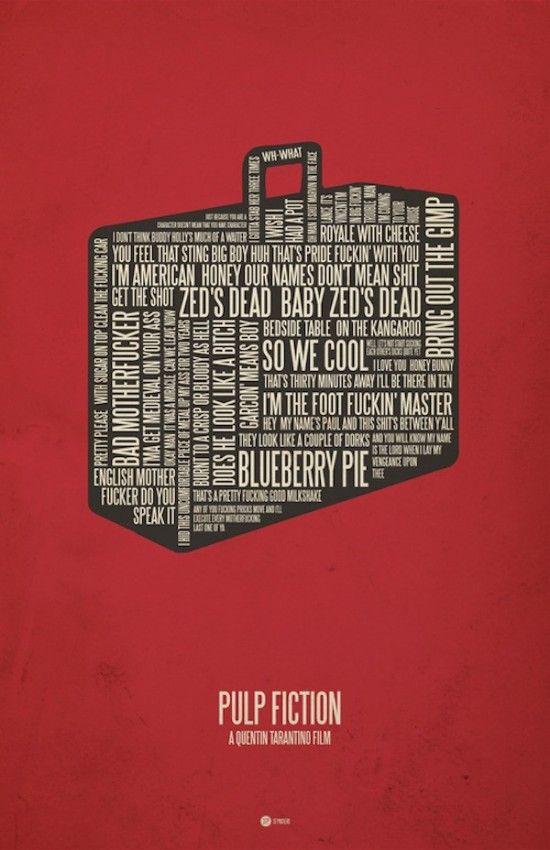No me toques las Helvéticas | Blog sobre diseño gráfico y comunicación: Posters con citas de película
