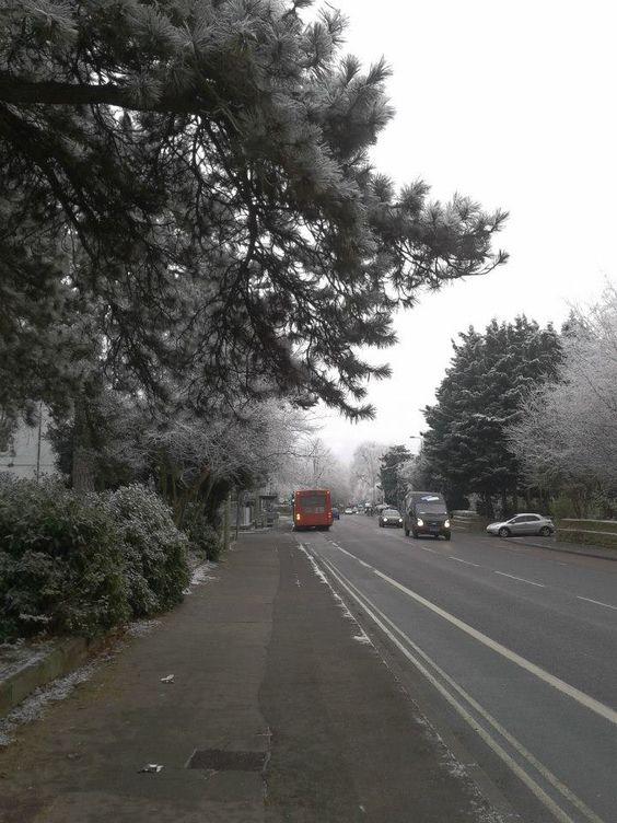 Frío en Oxford