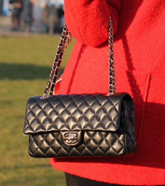 chanel valentine collection for spring 2014 timeless classic flap bag with charms on the light gold
