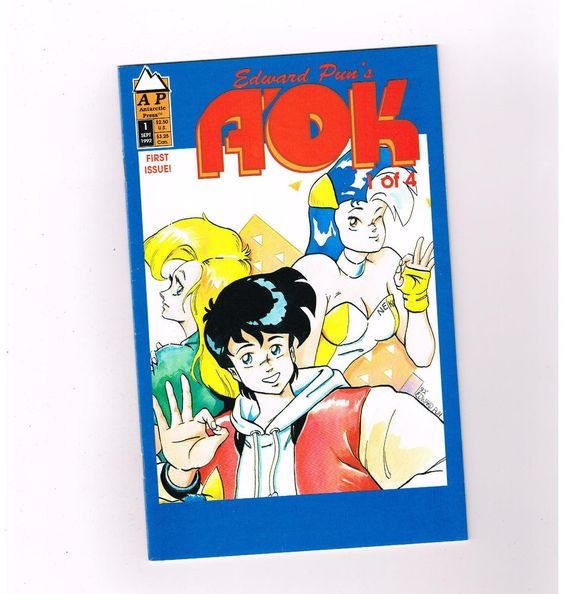 A-OK 4-part Modern Age Manga series from Antarctic press! NM http://r.ebay.com/xt1huJ