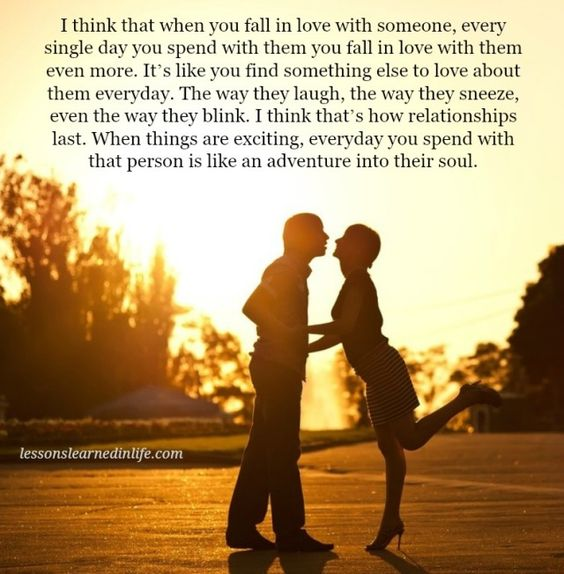 Quotes I Love You More Every Day: I Think That When You Fall In Love With Someone Every