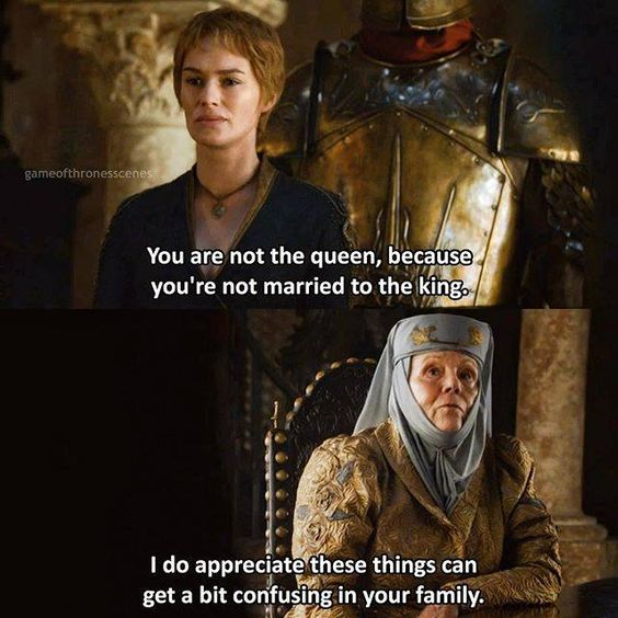 Lady Olenna Tyrell (Diana Rigg). The sass is strong... Game of Thrones. ASOIAF