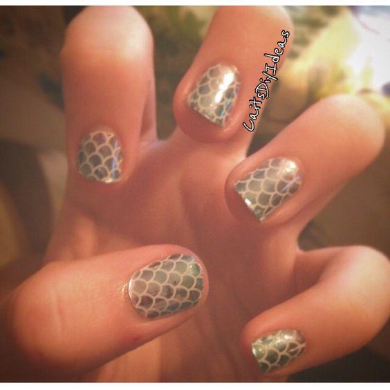 Jumberry nails. #CaitsDiyIdeas
