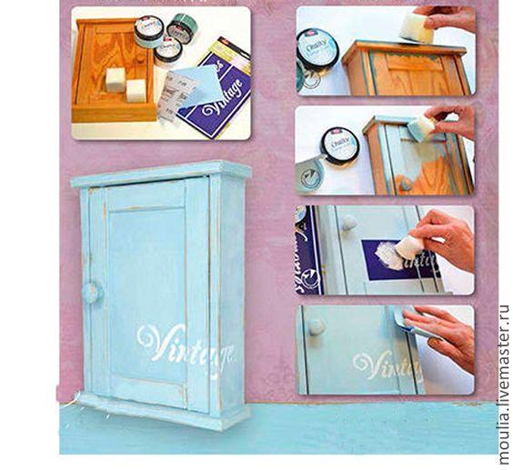 Купить 6 видов NEV Меловая краска Chalky Vintage-Look, 250 мл.