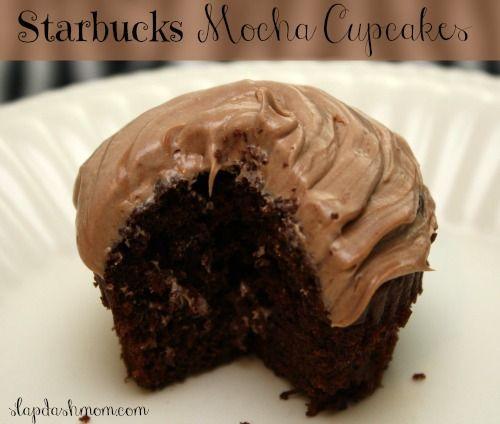 Starbucks Mocha Cupcake #Recipe