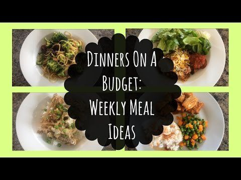 Dinner Ideas Reddit Dinners On A Budget Weekly Meal Ideas Dinner On A Budget Cooking On A Budget Healthy Recipes On A Budget