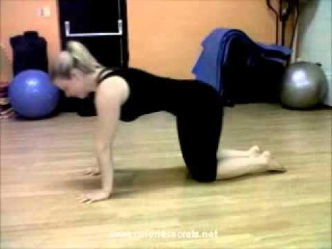 Pole Dancing Workout - Panther push ups. Fun and enjoyable ways to get fit!