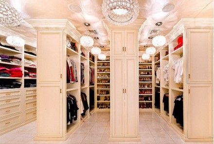 closet, closet, more closet...
