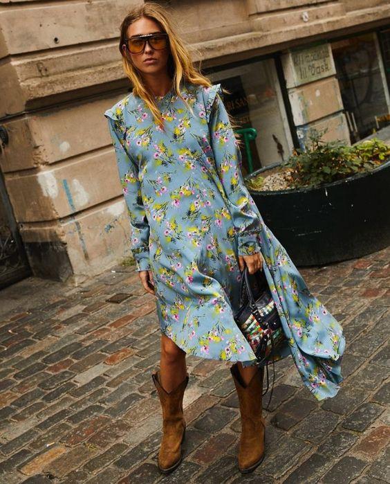 Time for Fashion » Las botas que (de verdad) importan este otoño vienen del Lejano Oeste