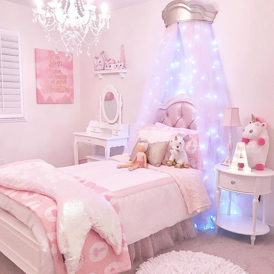 Adorable Girl Rooms Decord Ideas Inspired Beauty Kids Bedroom Decor Little Girl Bedrooms Girly Bedroom