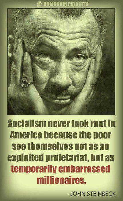 Steinbeck on Socialism