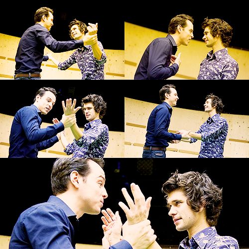 Andrew Scott and Ben Wishaw