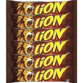 Lion candy bars!
