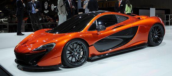 #McLaren P1 - Mondial de l'Automobile 2012 - #MondialAuto