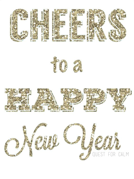 Happy New Year, 2015! | Quest for Calm #HappyNewYear #Cheers