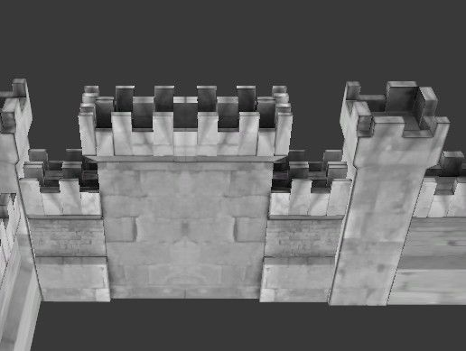 Castle Walls 3d Exterior Unity Asset Store In 2020 Castle Wall Castle Exterior