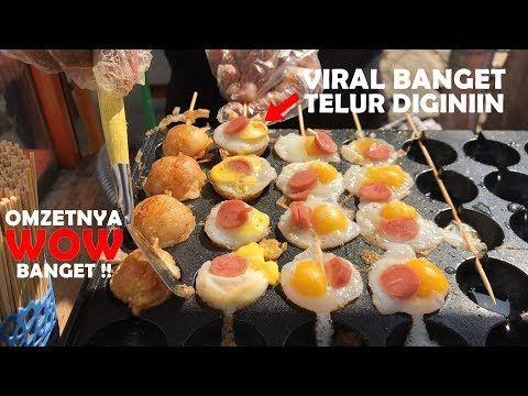 Inovasi Bikin Omzet Wow Telurnya Viral Di Bikin Egg Satay Pontianak Street Food 384 Youtube Makanan Memasak Ide Makanan