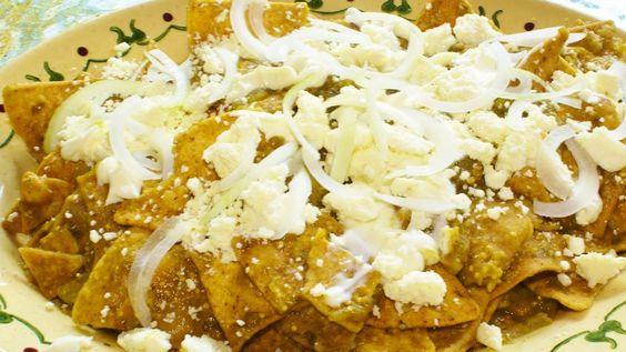 Receta de chilaquiles rápidos / Quick recipe chilaquiles / Comida mexicana