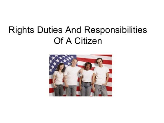 Essay on duties and responsibilities of a citizen