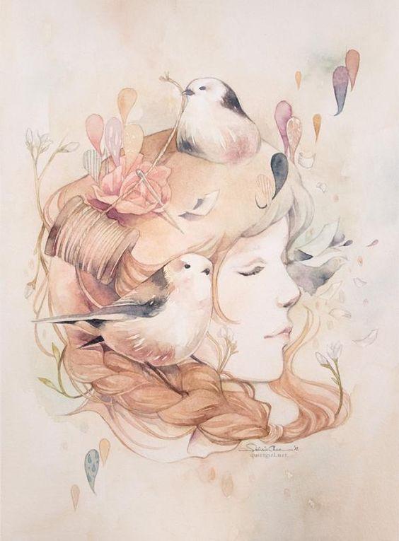 Passageiro. Ilustração por Valerie Ann Chua. <a href=