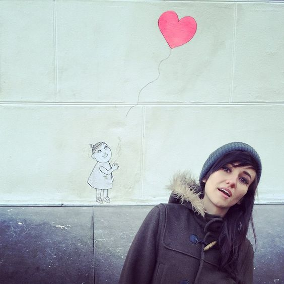 Finally a real Banksy #amsterdam